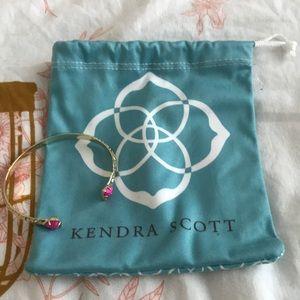 Pink Kendra Scott cuff